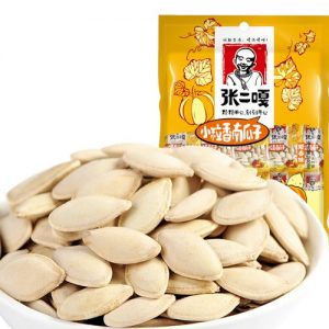 6920753635592/ZEG Pumpkin white Seeds 95g 张二嘎小粒香南瓜子