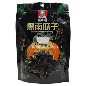 6920753684026/ZEG Black Pumpkin black Seeds  105g 张二嘎黑南瓜子