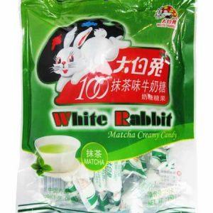 6926719110059/WHITE RABBIT MATCH CREAMY CANDY 150g 大白兔抹茶味奶糖
