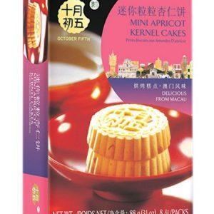 6935133802501/OCT FIFTH  MINI ALMOND CAKES 88g 十月初五迷你粒粒杏仁饼