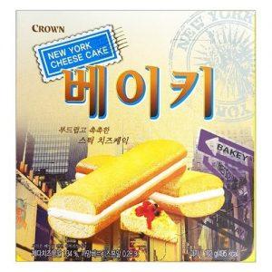8801111182911/CROWN  New York Cheese Cake 102g 纽约枕式奶油芝士味蛋糕