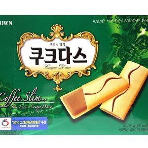 8801111186094/CROWN Couque D'asse Coffee Slim 288g 咖啡夹心条