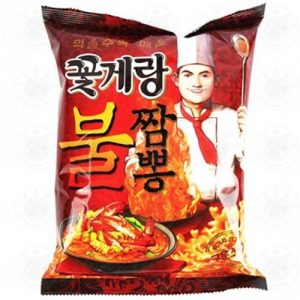 8801111919609/BINGGRAE Crab Chips Extra Hot 70g 酷辣味螃蟹脆片