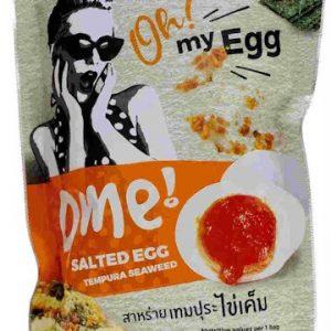 8857105820581/OME Salted Egg Temppura Seaweed 35g 咸蛋黄天妇罗海苔薯片
