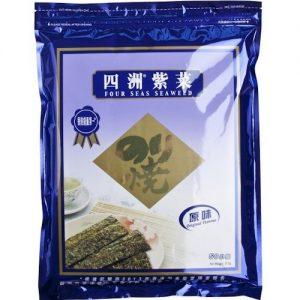 8888339005123/FOUR SEAS Seaweed Original 100 small packs 75g 四洲原味紫菜