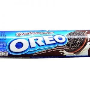 8992760223015/KRAFT OREO CHOCOLATE CREAM 137g 奥利奥巧克力冰淇淋饼干