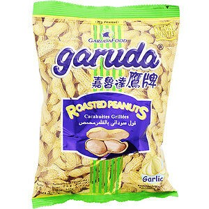 8992775122105/Garuda Garlic Roasted  Peanut 200g 嘉鲁达鹰牌蒜味花生