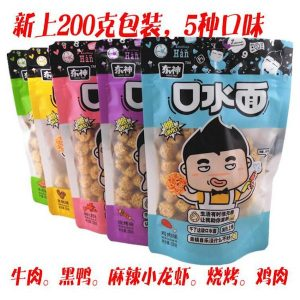 DSNSCF200G/DONG SHEN Dried Noodle Snacks Chicken Flavor 200g东神口水面鸡肉味(蓝色)