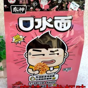 DSNSPF200G/DONG SHEN Dried Noodle Snacks  Prawn Flavor 200g东神口水面小龙虾味(粉色)