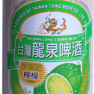 4711934570830/台湾龙泉柠檬水果啤酒 330ML