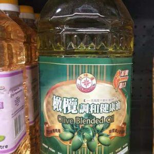 4713007300351/Delicious Olive Blended Oil 2Litre 好味道橄榄调和油2L