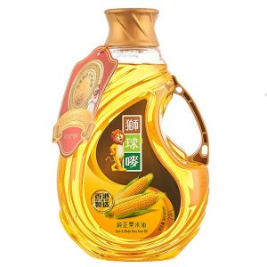 4898833501155/Lion&Globe Pure Corn Oil 2Litre 师球唛粟米油2L