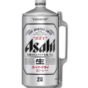 ASAHI SUPER DRY BEER 2L 朝日啤酒超爽2L桶