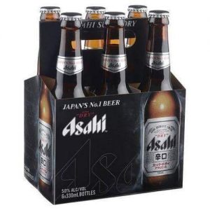 ASAHI SUPER DRY BEER 330MLx6P