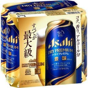 ASAHI DRY PREMIUM BEER 500MLx6P  6.6%