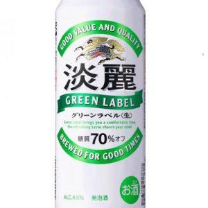 KIRIN 500ML 4.5% 绿标发泡酒
