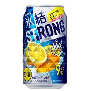 KIRIN HYOKETSU STRONG LEMON FLAVOR SPARKLING 350ML 9% 浓柠檬味气泡酒