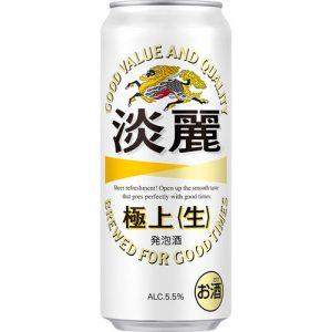 KIRIN 500ML 5.5% 淡丽 极上气泡酒