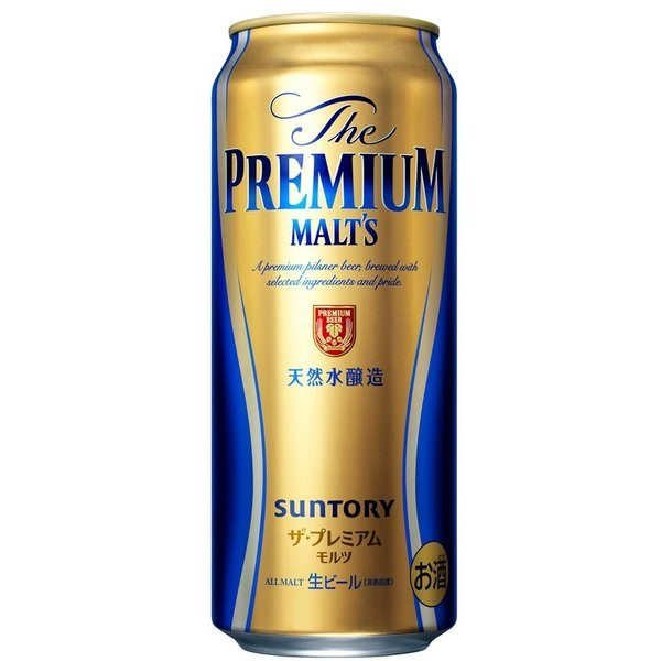 SUNTORY PREMIUM MALT BEER CANNED 500ML Alc 5.5% 三得利罐装啤酒 ...
