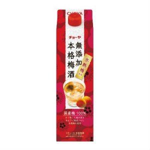 CHOYA HONKAKU UMESHU 1.8L  10% Paper box packing 无添加梅酒 纸盒装