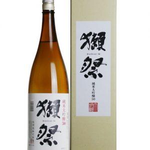 Asahi Shuzo 1.8L 16% 獭祭 五割 纯米大吟酿