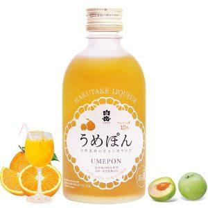 HAKUTAKE 300ML 10% 白岳柑橘梅酒