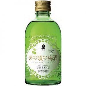 HAKUTAKE LIQUEUR 300ML 13% 白岳梅酒