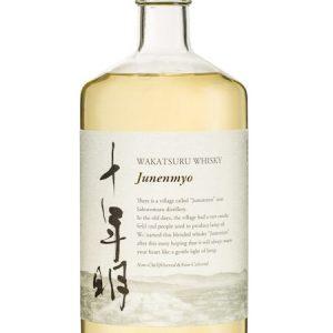 WAKATSURU Junenmyo Whisky 700ML 40% 十年明威士忌