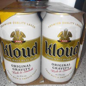 643303996047/KLOUD100% MALT REAL BEER CANNED 355ML*6P 韩国克洛德啤酒6罐装
