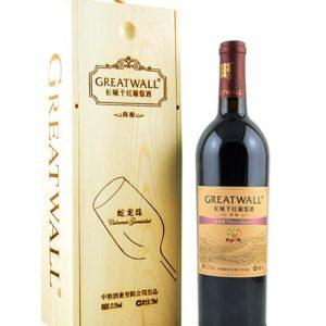 6901009913237/长城干红葡萄酒蛇龙珠 750ML 12.5%