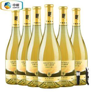 6901009917105/长城干白葡萄酒莎当妮 750ML 12.5%