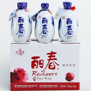 6901216083334/塔牌丽春八年绍兴酒 375ML 12%