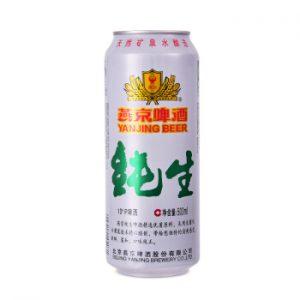 燕京纯生 啤酒500ML 3.6%