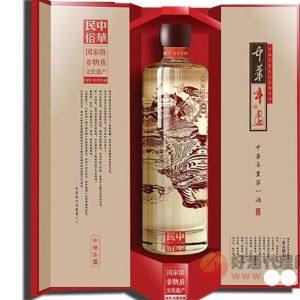 6923155598373/中华年画浓香型白酒 500ML 46%