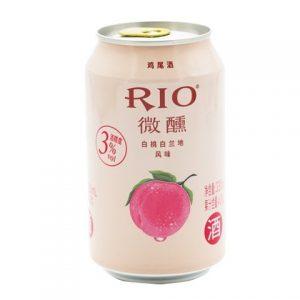 RIO微醺白桃味鸡尾酒 330ML 3%