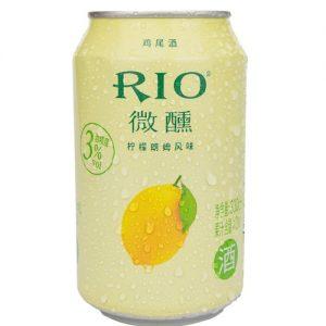 RIO微醺柠檬朗姆酒 330ML 3%