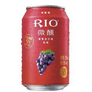 RIO微醺葡萄白兰地酒鸡尾酒330ML 3%