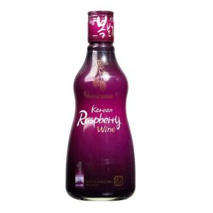 852669331502/SEONUNSAN BOKBUNJA KOREAN RASPBERRY WINE 375ML 16% Alc./Vol  树莓酒