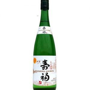 8801030611363/ Baekhwa Soobok Sake 700ml 14% 白花清酒