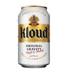 8801030999034/KLOUDMALT REAL BEER CANNED 355ML 5% 韩国克洛德啤酒罐装