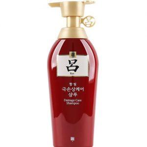 RYO Damage Care Shampoo 450ML 吕修复受损发质洗发露(红色)