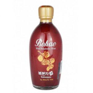 8801147120178/BOHAE BOKBUNJA BLACK RASPBERRY 300ML 树莓酒