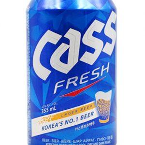 8801858011017/CASS KOREA BEER  CANNED 355ML 韩国凯狮啤酒