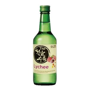 8809018211611/CHATEUL Lychee Flavor Korean Soju 360ML 14% 韩国荔枝烧酒