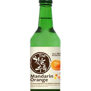 8809018215398/CHATEUL Mandarin Orange Flavor Korean Soju 360ML 14% 韩国柑橘烧酒