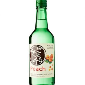 8809018215497/CHATEUL Peach Flavor Korean Soju 360ML 14%韩国桃子烧酒