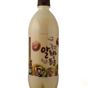8809056362702/WOORISOOL MAKGEOLLI CHESNUT 750ML 6% 栗子米酒