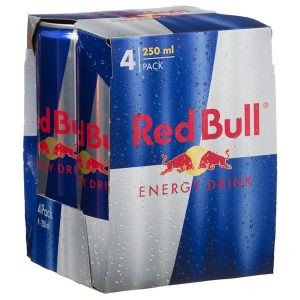 Red Bull Energy Drink 250mlX5P 澳洲红牛4连罐