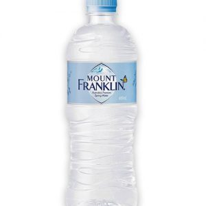 Mount Franklin Lightly Sparkling Mineral Water 600ml