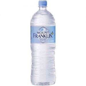 Mount Franklin Spring Water 1.5L